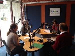 "Michelle Youngs, Kiesha Lalama and Ralph Beck spent the morning with Mike Collins on WFAE's ""Charlotte Talks"" program."