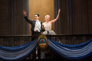 National Tour of Evita. Photo by Richard Termine.