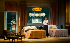 The Mountaintop plays in Booth Playhouse through March 2