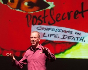 Frank Warren, creator of PostSecret
