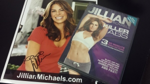 Jillian Michaels DVD and autographed photo
