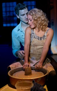 Steven Grant Douglas and Katie Postotnik, Ghost The Musical Tour. © Joan Marcus 2013.