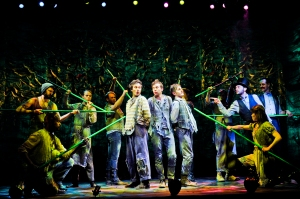 The Peter and the Starcatcher Tour Company; Photo by Jenny Anderson