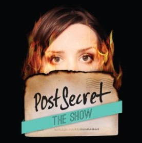 PostSecret: The Show plays in Booth Playhouse April 22- May 4.