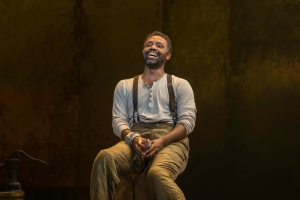 Nathaniel Stampley as Porgy in Blumenthal Performing Arts production of Porgy & Bess.