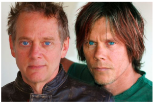 Michael and Kevin Bacon