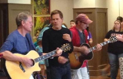 Michael Bacon, Kevin Bacon, The Bacon Brothers, Blumenthal Performing Arts, Ronald McDonald House of Charlotte