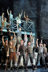Don't miss the cast of Newsies come January.