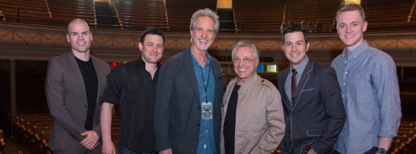 Under The Streetlamp with Frankie Valli and Bob Gaudio at Ryman Auditorium.