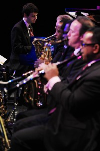 Jazz at Lincoln Center Orchestra comes to Belk Theater Tuesday, Oct. 7. Photo by Frank Stewart.