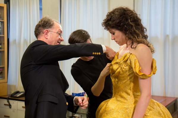 BroadwayWorld.com goes behind the scenes with William Ivey Long and Paige Faure. Photo by Jennifer Broski.