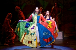 Joseph and the Amazing Technicolor Dreamcoat National Tour 2014 stars Ace Young and Diana DeGarmo