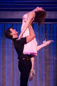 Samuel Pergande (Johnny) and Jillian Mueller (Baby) in the North American tour of DIRTY DANCING – THE CLASSIC STORY ON STAGE. (Photo by Matthew Murphy)