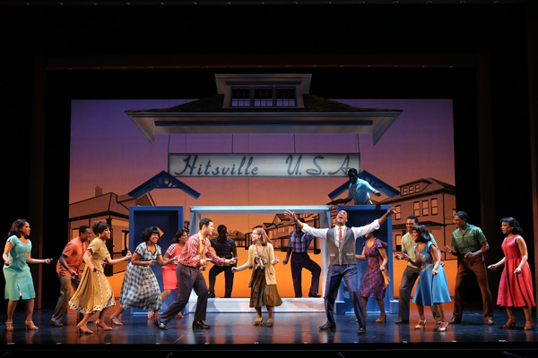 Motown The Musical First National Tour. Photo by Joan Marcus.