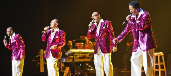 The Four Tops return to Belk Theater this July! Photo by LunahZon Photography.