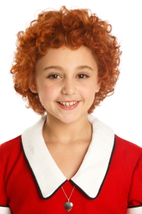 Issie Swickle as Annie. Photo by Joan Marcus.