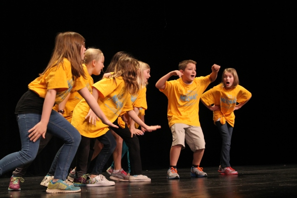 McKee Road Elementary was there to perform Under the Sea from Little Mermaid. Photo by Daniel Coston.