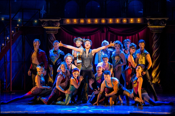 Sasha Allen and the cast of the National Touring Production of PIPPIN. Photo by Terry Shapiro.