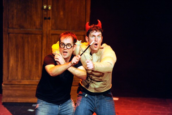 Daniel Clarkson and Jefferson Turner star in the hilarious Potted Potter.