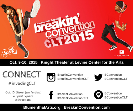 Breakin' Convention CLT social media chart