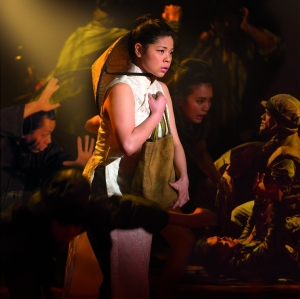 Eva Noblezada starring as Kim in Miss Saigon