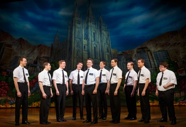 THE BOOK OF MORMON National Tour Company, (c) Joan Marcus, 2014