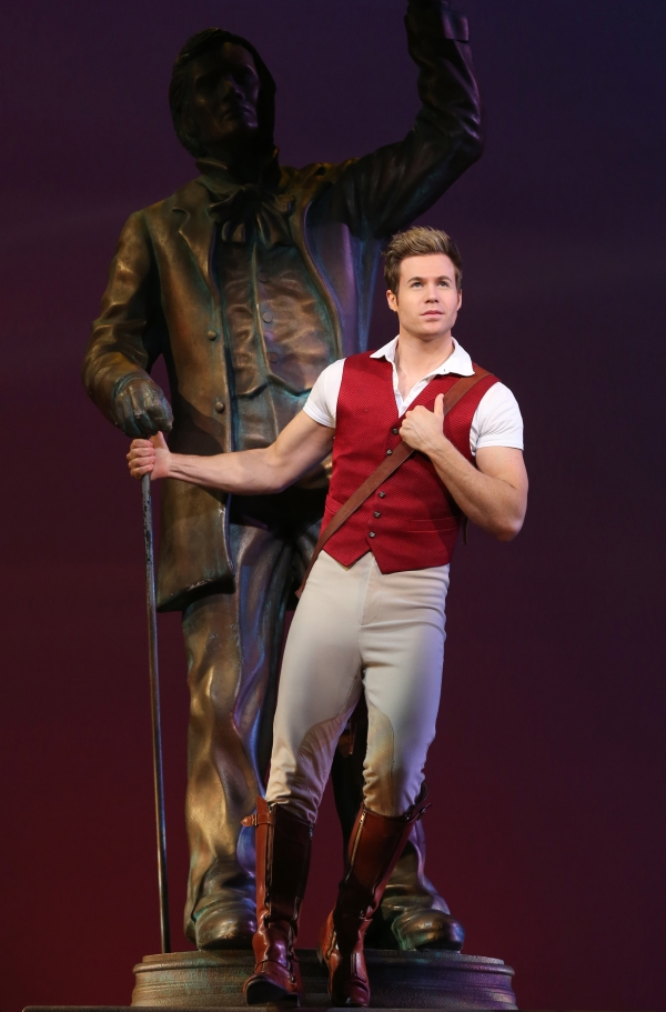Ashley Parker Angel stars as Fiyero in Wicked at Ovens Auditorium through Jan. 31.